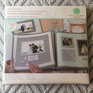 Martha Stewart Scrapbooking Kit 12 x 12 Scrapbook